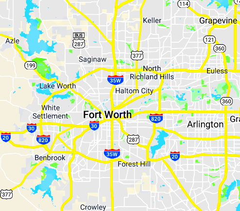 Fort Worth dumpsters