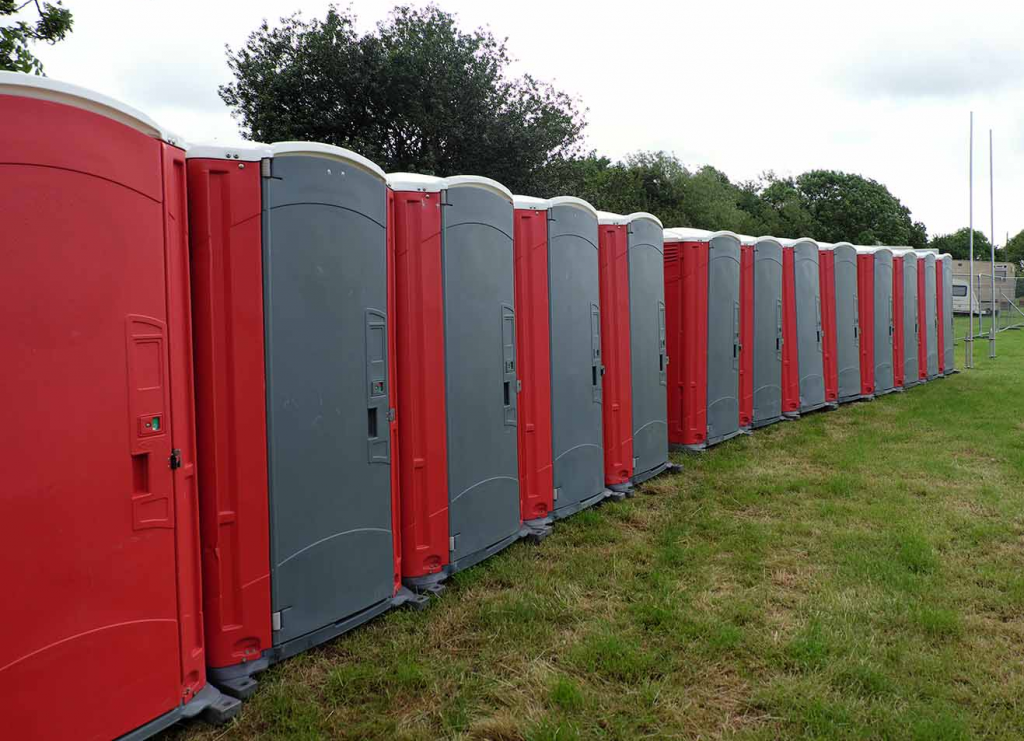 portable toilets Fort Worth